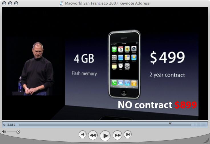iphone retail price