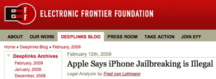 Apple Says iPhone Jailbreaking is Illegal | Electronic Frontier Foundation.jpg
