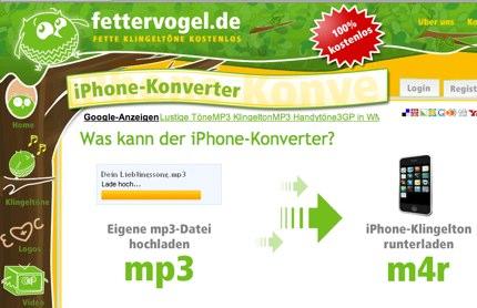 Fette kostenlose Klingeltöne | fettervogel.de - iPhone-Konverter.jpg