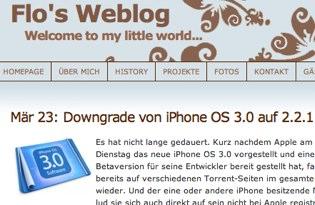 Downgrade von iPhone OS 3.0 auf 2.2.1 - Flo_s Weblog.jpg