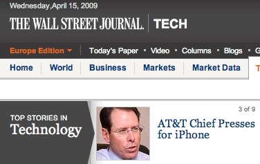 AT&T Chief Presses to Keep iPhone, Deepen Wireless Push - WSJ.com.jpg