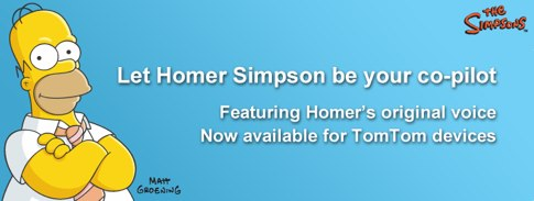 TomTom, portable GPS car navigation systems - Original Homer Simpson voice.jpg