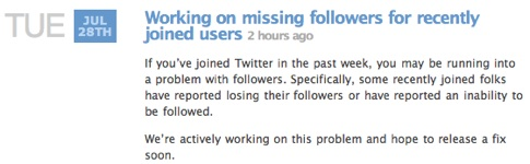 Twitter Status - Working on missing followers for recently joined users.jpg