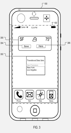 AppleInsider | Apple proposes location-based iPhone home screens-1.jpg