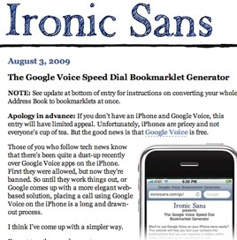 Ironic Sans_ The Google Voice Speed Dial Bookmarklet Generator.jpg