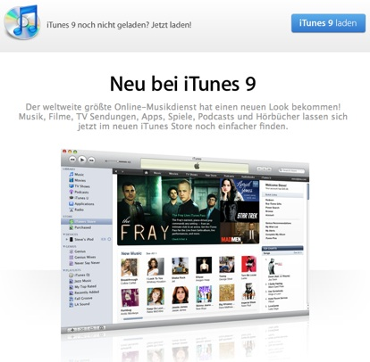 iTunes 9 und iPhone Firmware 3.1_ Hinweise bereits im iTunes Store - Apfelcenter.jpg