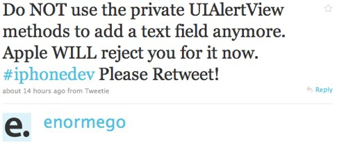 Twitter _ enormego_ Do NOT use the private UIA ....jpg
