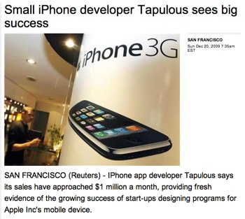 Small iPhone developer Tapulous sees big success | Reuters.jpg