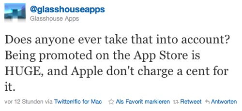 IPhoneBlog de Glasshouse Apps