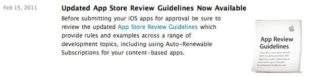 IPhoneBlog de Guidelines