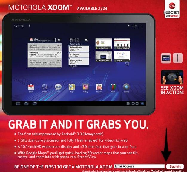 IPhoneBlog de Motorola XOOM 1