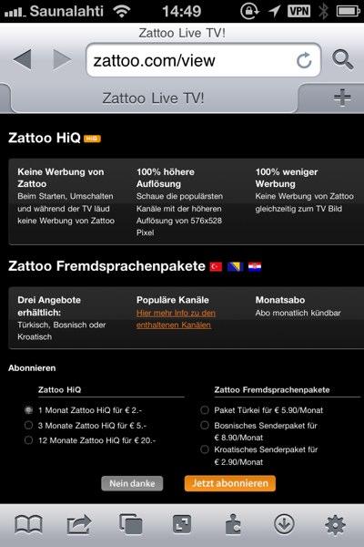 IPhoneBlog de Zattoo
