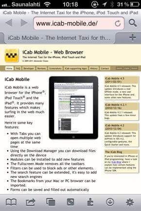 IPhoneBlog de iCab