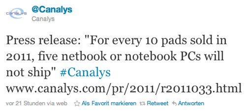 IPhoneBlog de Canalys