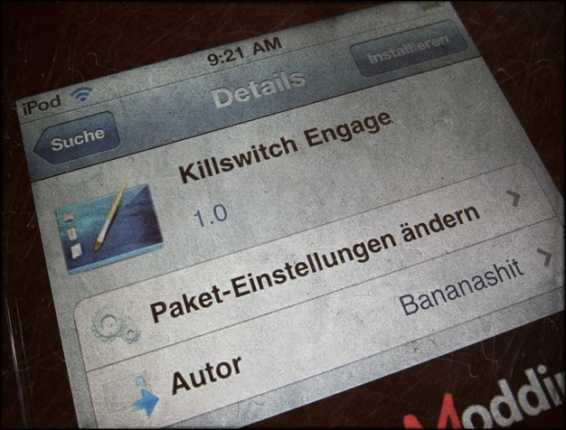 IPhoneBlog de Killswitch