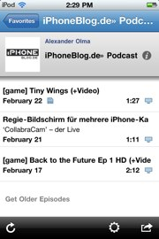 IPhoneBlog de Podcaster1