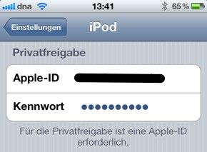 IPhoneBlog de Privatfreigabe1