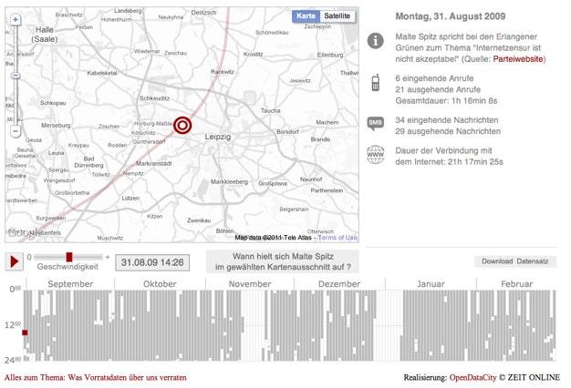 IPhoneBlog de Vorratsdatenspeicherung