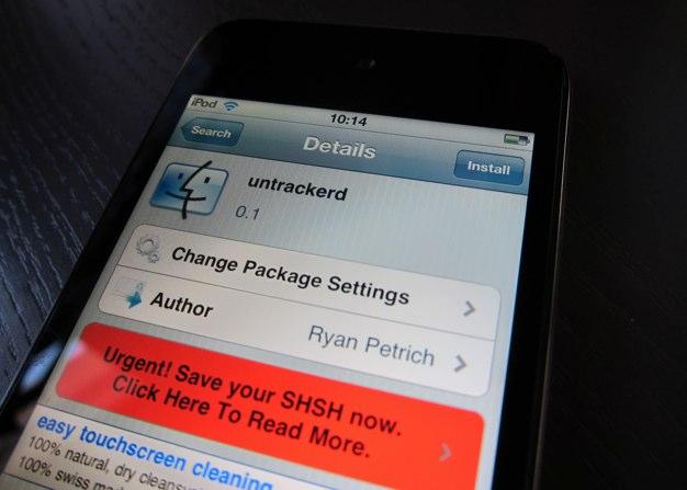 IPhoneBlog de untrackerd