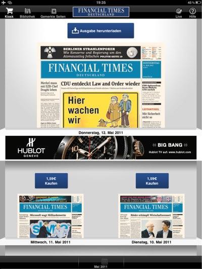 IPhoneBlog de Financial Times