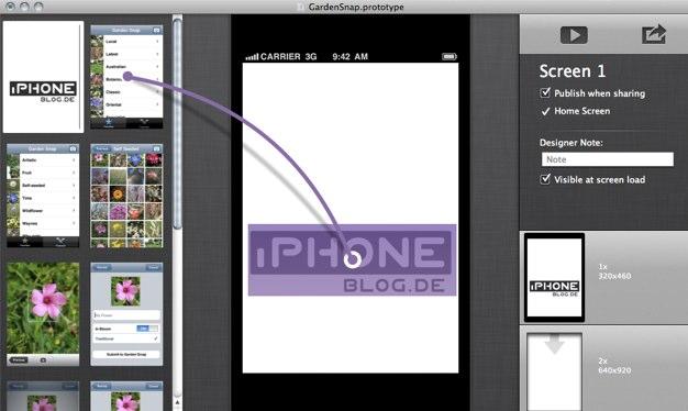 IPhoneBlog de Prototypes 1