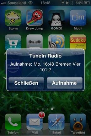 IPhoneBlog de TuneIn1