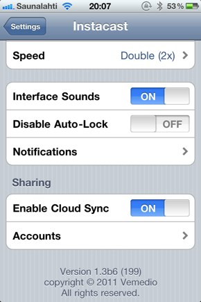 IPhoneBlog de Instacast2