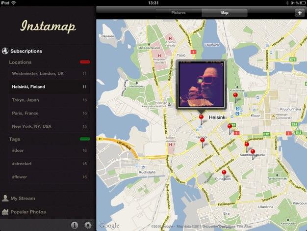 IPhoneBlog de Instamap