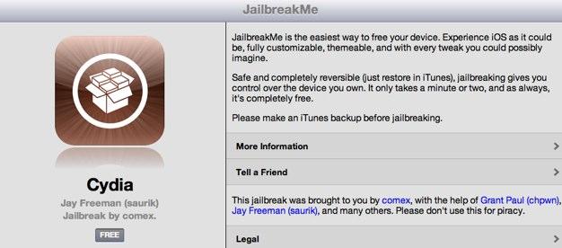 JailbreakMe 3 0