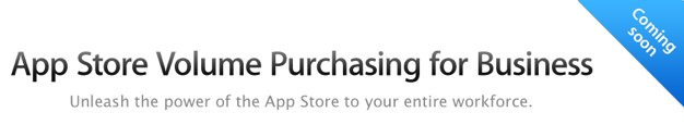 IPhoneBlog de Volume Purchase