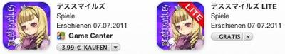 IPhoneBlog de iTunes Deathsmiles