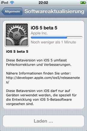 IPhoneBlog de Beta5 a
