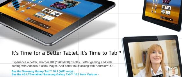 IPhoneBlog de Samsung Galaxy Tab