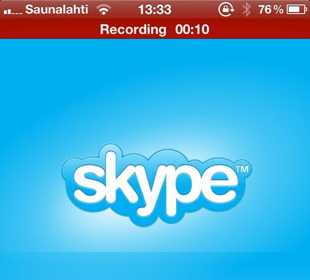 IPhoneBlog de Skype Recording