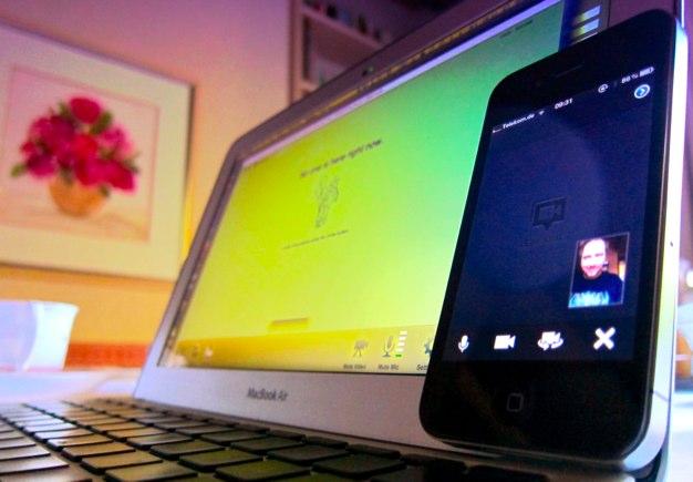 IPhoneBlog de Hangout 1