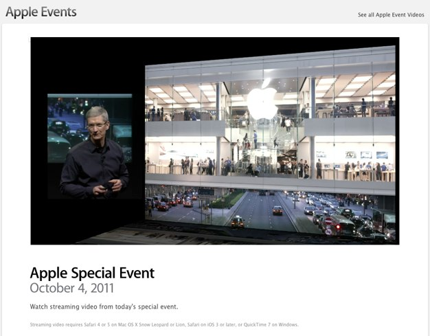 IPhoneBlog de Apple Events