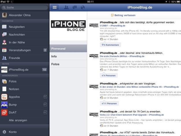 IPhoneBlog de Facebook