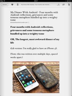 IPhoneBlog de Instapaper b