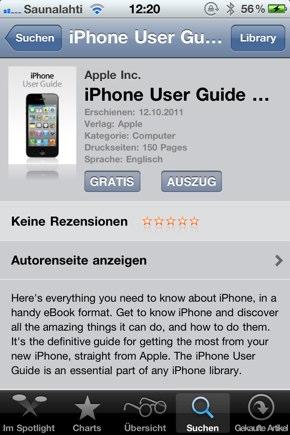 IPhoneBlog de User Guide a