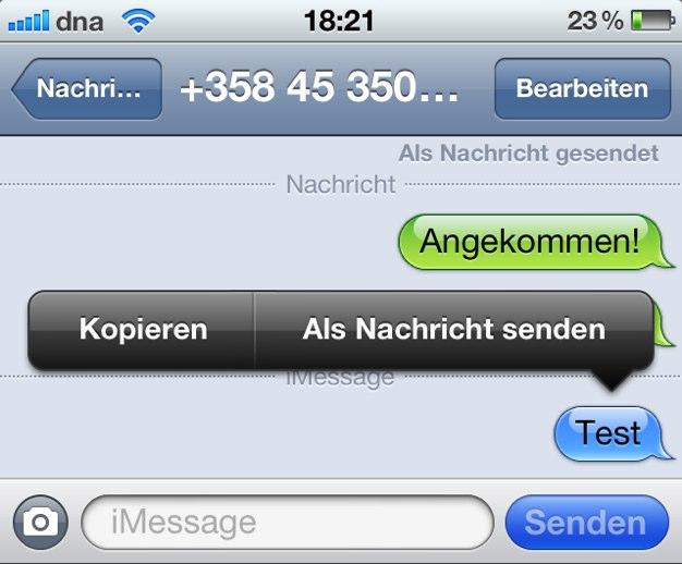 IPhoneBlog de iMessage 1