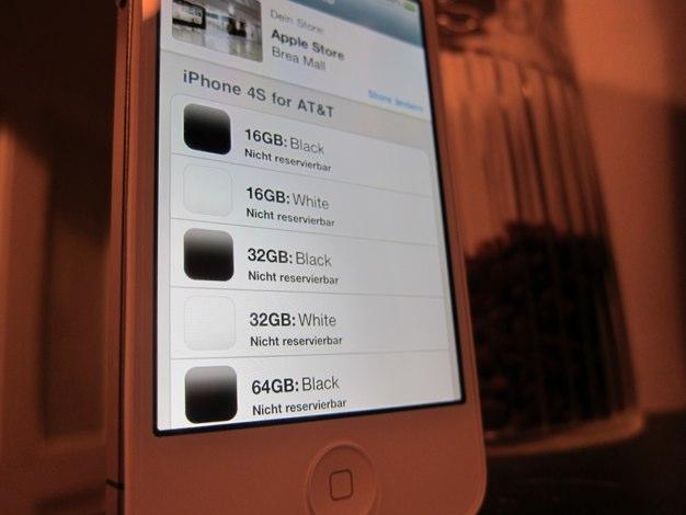 IPhoneBlog de Nicht reservierbar 1