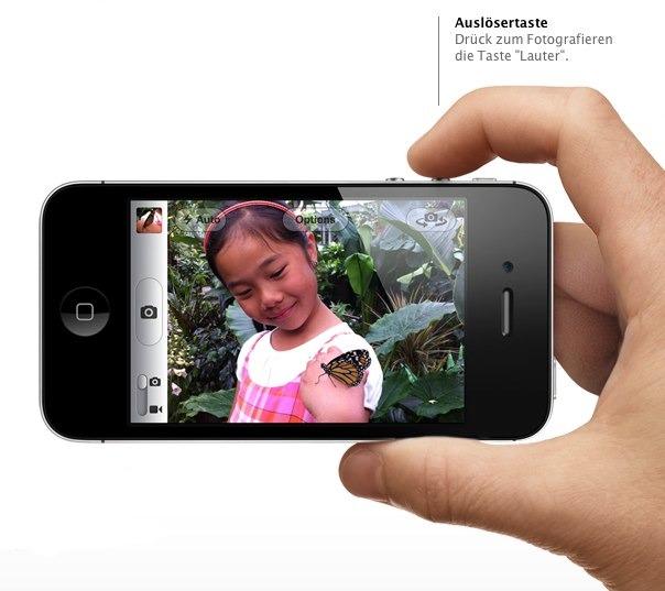 IPhoneBlog de Shutter Button