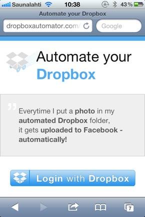 IPhoneBlog de Dropbox Automator a