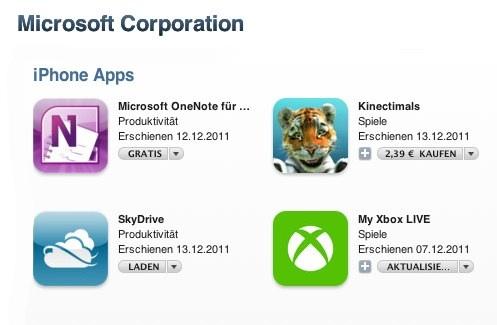 IPhoneBlog de Microsoft