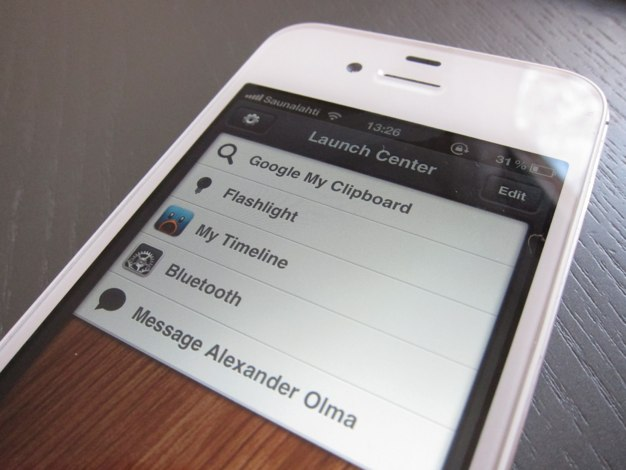 IPhoneBlog de Launch Center