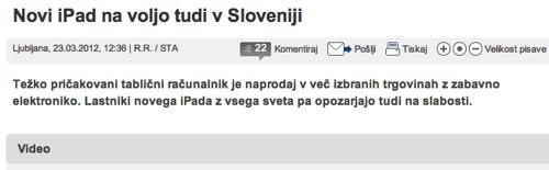 IPhoneBlog de 24ur com Slowenien