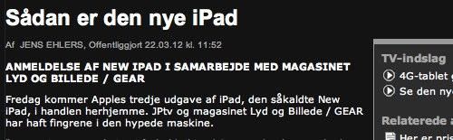 IPhoneBlog de Daenemark JP dk