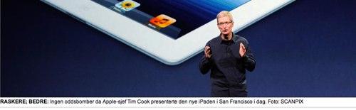 IPhoneBlog de Dagbladet no Norwegen