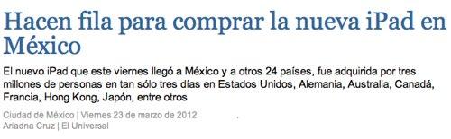 IPhoneBlog de El Universal Mexiko