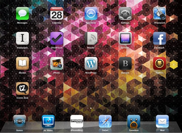 IPhoneBlog de Homescreen a iPad